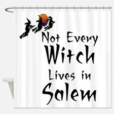 HALLOWEEN - NOT EVERY WITCH LIVES I Shower Curtain
