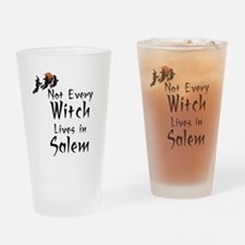 HALLOWEEN - NOT EVERY WITCH LIVES I Drinking Glass
