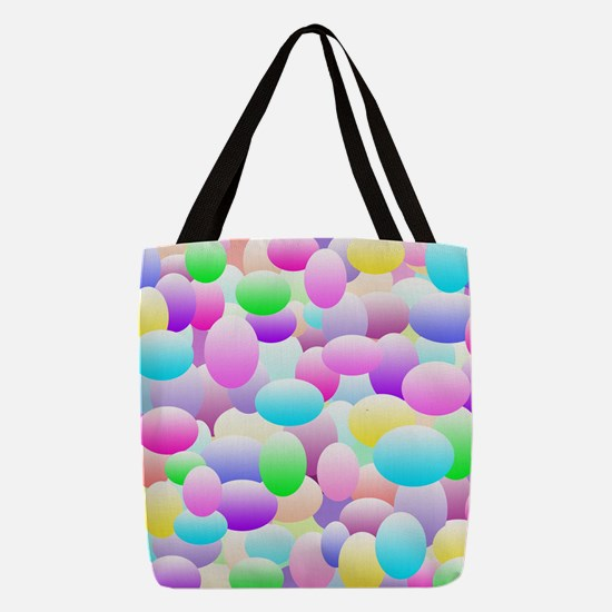 Bubble Eggs Light Polyester Tote Bag