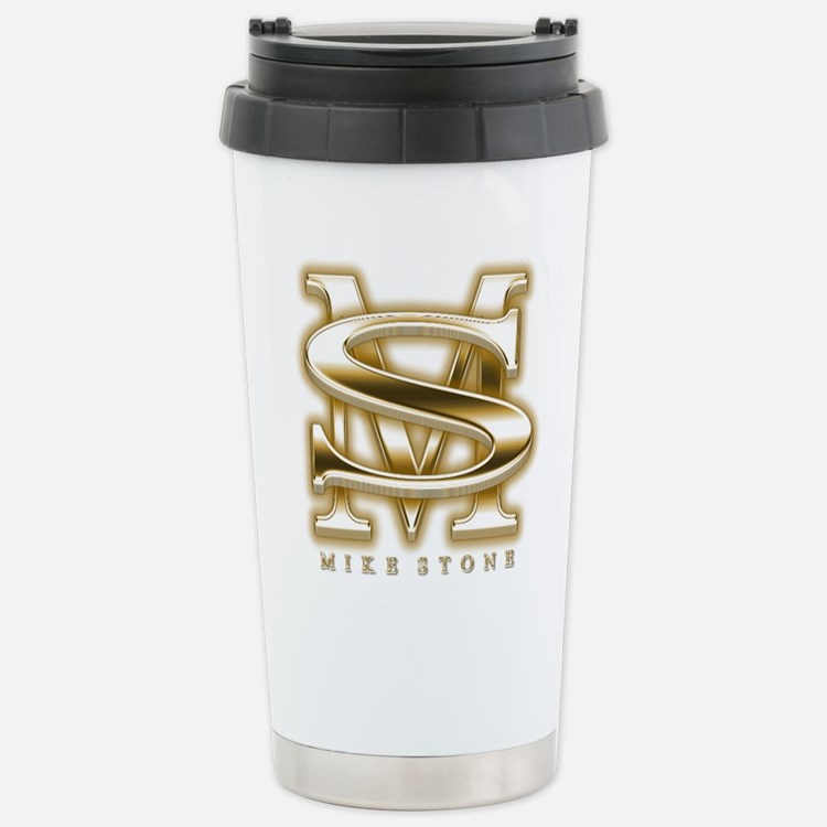 """Mike Stone (tm)"" Travel Mug"