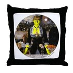 Smiley Bar Throw Pillow