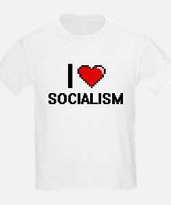 I love Socialism Digital Design T-Shirt