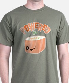 Powered by Salmon Sushi T-Shirt