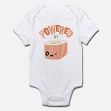 Powered by Salmon Sushi Infant Bodysuit