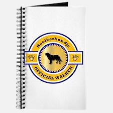 Kooikerhondje Walker Journal
