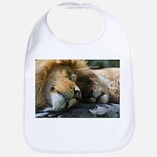 Cute Lioness Bib