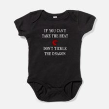 Cute Red dragon blue dragon Baby Bodysuit