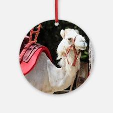 Cute Camel Round Ornament