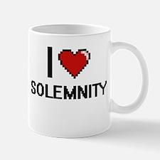 I love Solemnity Digital Design Mugs