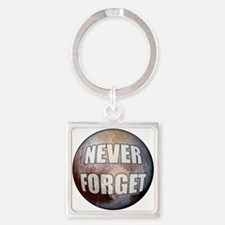 Pluto Never Forget Keychains