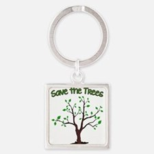 Save the Trees Keychains