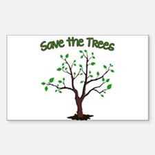 Save the Trees Decal
