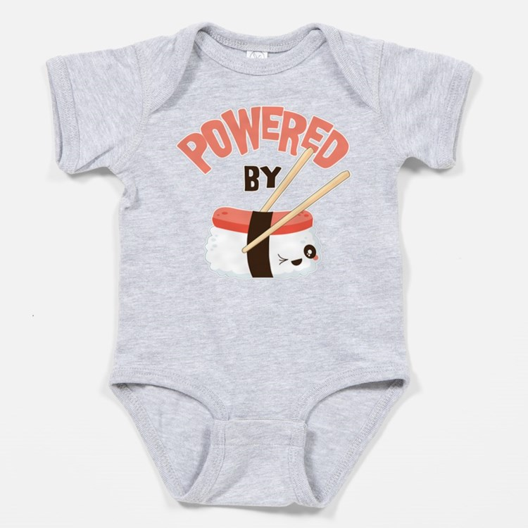 Powered by Nigri Sushi Baby Bodysuit