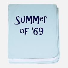 Summer of '69 baby blanket