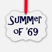Summer of '69 Ornament
