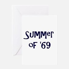 Summer of '69 Greeting Cards