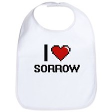 I love Sorrow Digital Design Bib