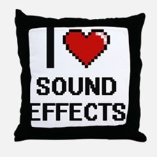 Unique Animals sounds Throw Pillow