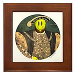 Smiley VIII Framed Tile
