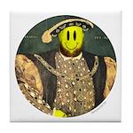 Smiley VIII Tile Coaster