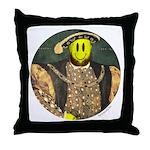 Smiley VIII Throw Pillow