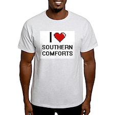 I love Southern Comforts Digital Design T-Shirt