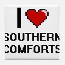 I love Southern Comforts Digital Desi Tile Coaster