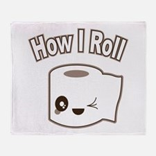 How I Roll Throw Blanket