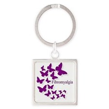 Cute Fms Square Keychain