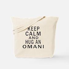Keep Calm And Omani Designs Tote Bag