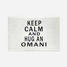 Keep Calm And Omani Designs Rectangle Magnet