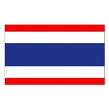 Thai Flag Rectangle Decal