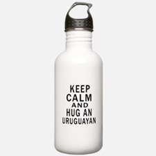 Keep Calm And Uruguaya Water Bottle