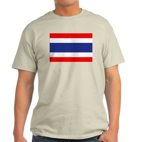 Thai Flag Light T-Shirt