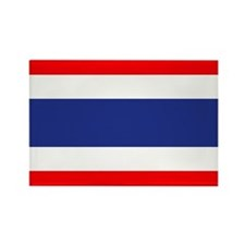Thai Flag Rectangle Magnet