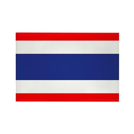 Thai Flag Rectangle Magnet (10 pack)