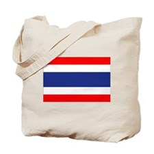 Thai Flag Tote Bag