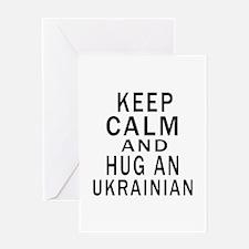 Keep Calm And Ukrainian Designs Greeting Card