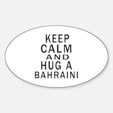 Keep Calm And Bahraini Designs Decal