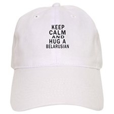 Keep Calm And Belarusian Designs Baseball Cap