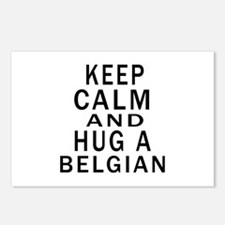 Keep Calm And Belgian Des Postcards (Package of 8)