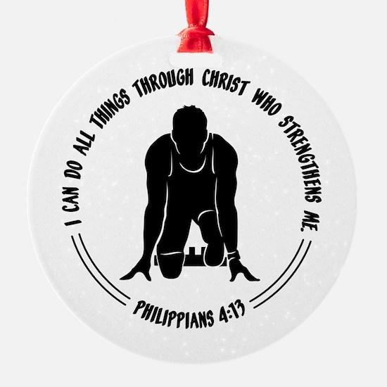 PHIL.4:13 - RUN Ornament