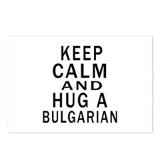 Keep Calm And Bulgarian D Postcards (Package of 8)
