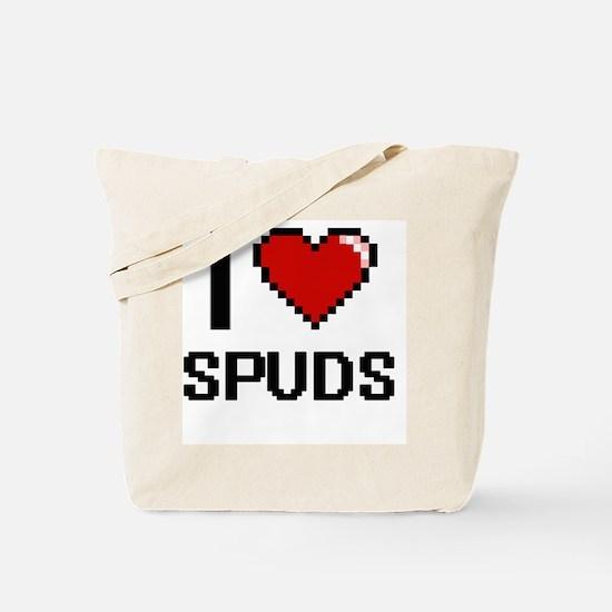 Unique Spuds mackenzie Tote Bag