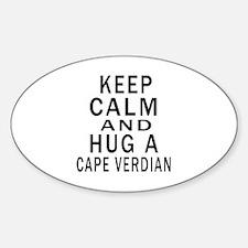 Keep Calm And CAPE VERDIAN Designs Decal