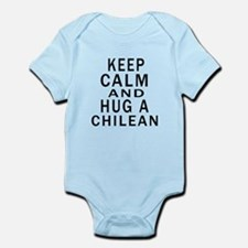Keep Calm And Chilean Designs Infant Bodysuit