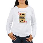 Queen Leo Women's Long Sleeve T-Shirt