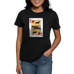 Queen Leo Women's Dark T-Shirt
