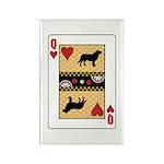 Queen Leo Rectangle Magnet (100 pack)
