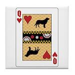 Queen Leo Tile Coaster